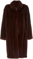 Sprung Frères oversized mink fur coat