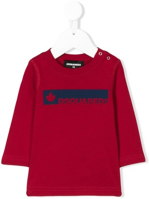 DSQUARED2 Panelled Logo Top