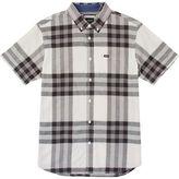 RVCA Brookfield Shirt - Short-Sleeve - Men's Vintage White L