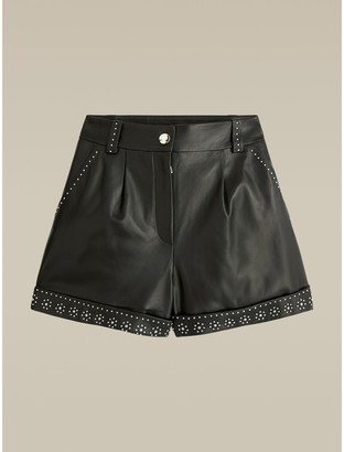 Tommy Hilfiger Leather Shorts
