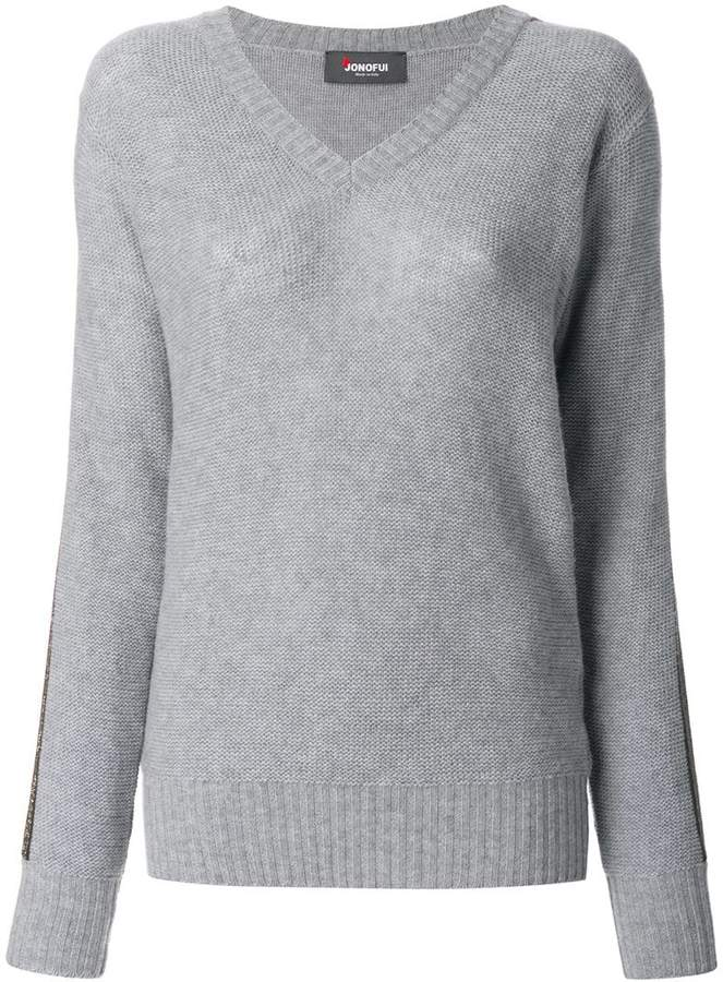 Jo No Fui V-neck pullover