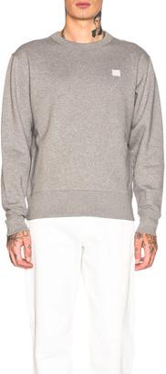 Acne Studios Sweatshirt in Light Grey Melange | FWRD