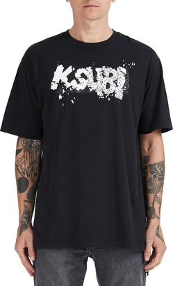 Ksubi Men's Comic Book Graphic Logo T-Shirt