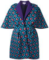 DELPOZO jacquard fitted jacket - women - Silk - 38
