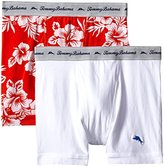 Tommy Bahama Men's 2 Pack Stretch Cotton Comfort Oahu Floral Boxer Brief