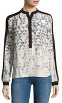 BCBGMAXAZRIA Multi-Direction Triangle Top