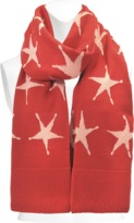 Acne Studios Paris Star scarf