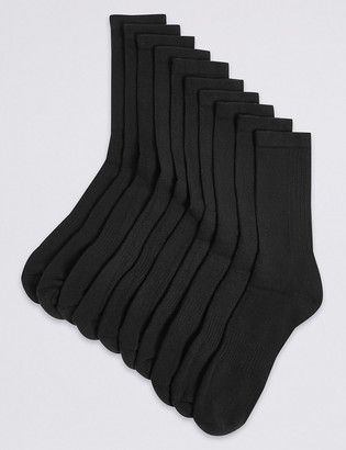 Marks and Spencer 10 Pack Cool & Fresh Cushioned Sports Socks
