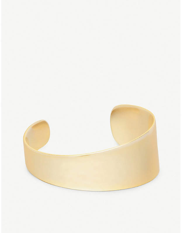 Kendra Scott Tenley 14ct gold-plated cuff bracelet