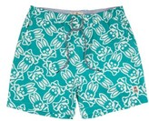 Psycho Bunny Boy's Print Swim Trunks