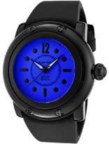 Glam Rock Women's GR25045 - Black Silicone/Dark Blue Wrist Watches