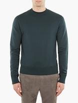 Cmmn Swdn Green Cotton Noah Sweatshirt