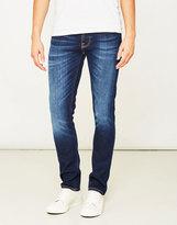 Nudie Jeans Grim Tim Dark Sparkles Jeans Navy