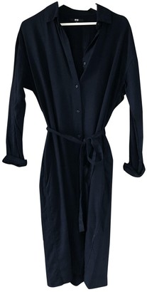Uniqlo Navy Cotton Dress for Women