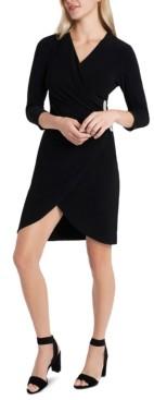 MSK V-Neck Sheath Dress