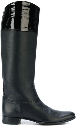 Hermes Pre-Owned riding style boots