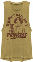 Star Wars Juniors' Leia Don't Call Me Princess Muscle Tee