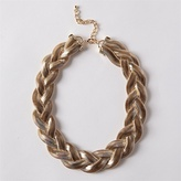 Ccc Thick Braided Chain Necklace