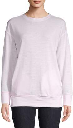 Core Life Washed Drop-Shoulder Sweatshirt