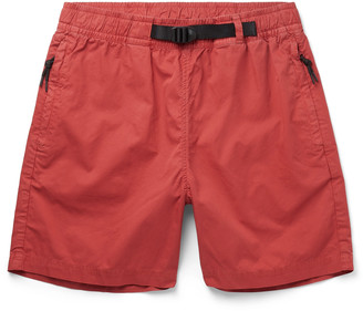 Bellerose Belted Cotton-Twill Shorts