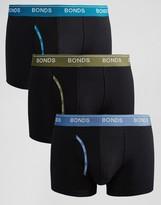 Bonds 3 Pack Guyfront Trunks