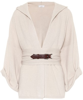 Brunello Cucinelli Hooded cashmere sweater