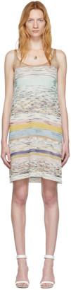 Missoni Multicolor Sleeveless Short Dress
