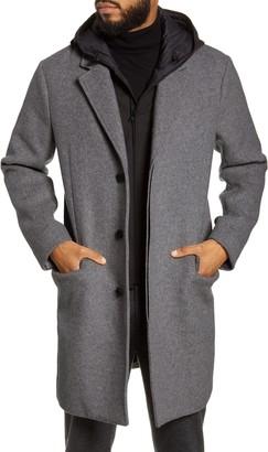 Vince Hooded Topcoat
