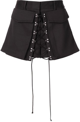 Dion Lee Hook-Detail Tailored Shorts