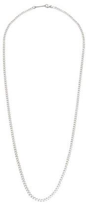 Miansai Cuban Curb-chain Sterling-silver Necklace - Silver