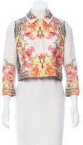 Givenchy Tweed Floral Jacket