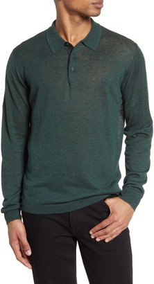 Nordstrom Signature Linen & Silk Polo Sweater