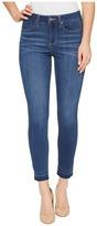 Liverpool Avery Crop with Released Hem on Silky Soft Denim in Coronado Mid Women's Jeans