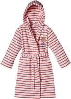 Sanetta Girl's Hooded Long - regular Bathrobe