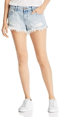 Pistola Denim Gigi Mid-Rise Denim Mini Shorts in Fling