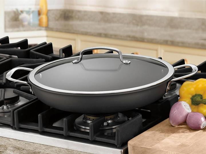 Cuisinart 12-in. Contour Everyday Pan with Lid