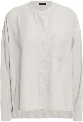 James Perse Washed-twill Shirt