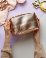 Mi-Pac Toiletry Bag in Rose Gold