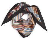 Echo Stripe Silk Scarf