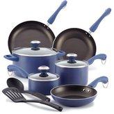 Paula Deen 11-pc. Nonstick Dishwasher Safe Nonstick Cookware Set, Blueberry