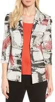Ming Wang Women's Three-Quarter Sleeve Jacket