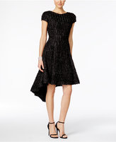 B MICHAEL Textured High-Low Dress