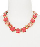 Anne Klein Faceted Collar Necklace