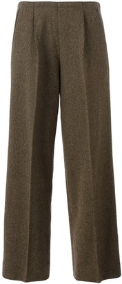 Jean Paul Gaultier Pre-Owned wide leg trousers