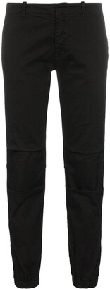 Nili Lotan Low rise tapered trousers