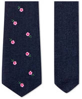 Gucci Cashmere tie with flowers