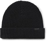 Burberry Waffle-Knit Wool-Blend Beanie
