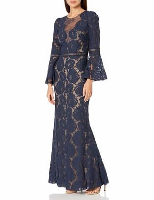 Tadashi Shoji Women's Ruffle Off The Shoulder Gown