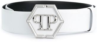 Philipp Plein PP hexagon buckle belt