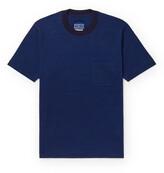 Thumbnail for your product : Blue Blue Japan Indigo-Dyed Cotton-Jersey T-Shirt